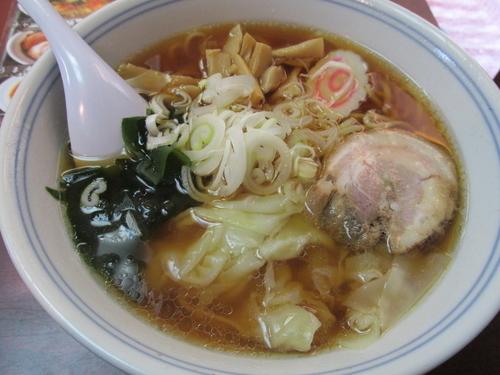 「ワンタン麺 「700円」」@江戸豊の写真