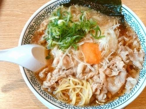 「肉ダブル肉そば」@丸源ラーメン 高松上天神店の写真