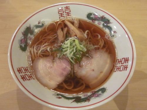 「煮干中華そば 680円」@心生麺商人の写真