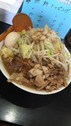 「【限定】哲郎 スープ変更前後」@二代目狼煙 分店 弐の写真