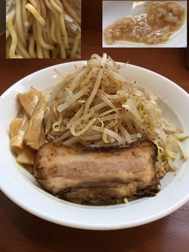 「まぜそば ¥750」@中華そば 七麺鳥の写真