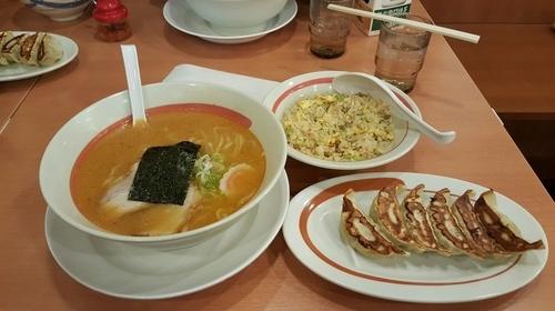 「味噌ラーメンミックスセット」@幸楽苑 取手店の写真