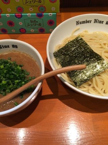「濃厚つけ麺」@麺Dining Number Nine 09の写真