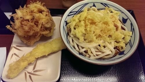 「ぶっかけ、冷、大盛」@丸亀製麺 川崎宮前店の写真
