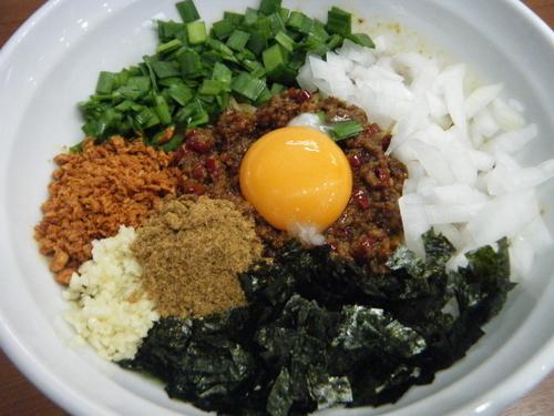 「台湾まぜそば(3辛MAX)780円」@麺厨房 武蔵の写真