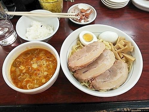 「ゴコウニクつけ麺(担々)」@我流担々麺 竹子 本郷店の写真