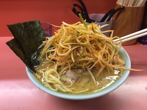 「ネギチャーシュー麺 中盛」@千家 根岸店の写真