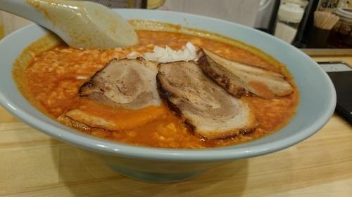 「味噌タンタンメン  チャーシュー、タマネギ」@ニュータンタンメン 川口店の写真