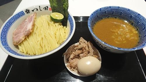 「濃厚豚崩しつけ麺」@つじ田 ららぽーとEXPOCITY店の写真
