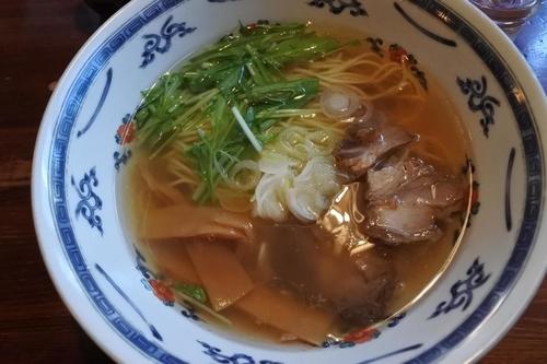 「しお ふつう」@麺屋 大輔の写真