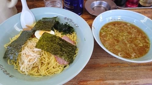 「つけ麺 大盛り 750円」@ラーメンショップ 光町店の写真