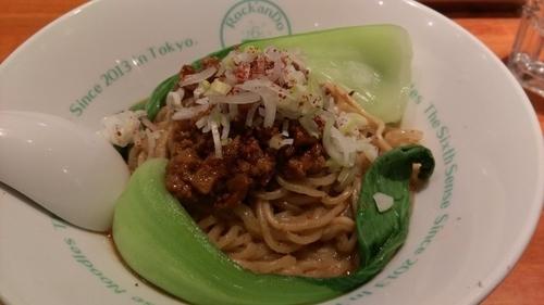 「汁なし担々麺」@麺屋 六感堂の写真