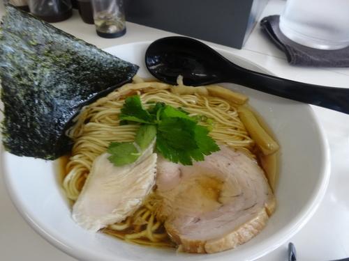 「鶏そば800円+大盛100円」@麺匠 独眼流の写真