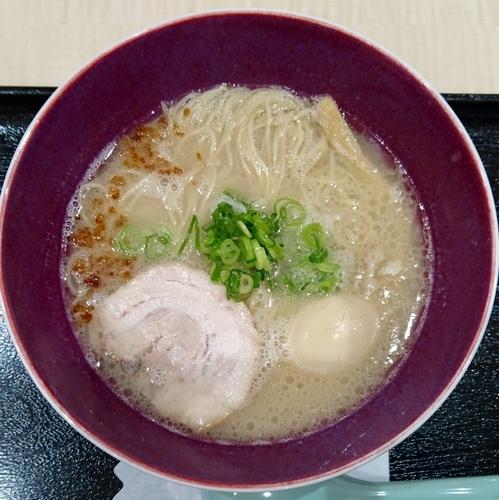 「塩とんこつ味玉らぁ麺880円」@自家製麺 佐野の写真