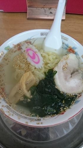 「塩ラーメン 600円」@太七の写真