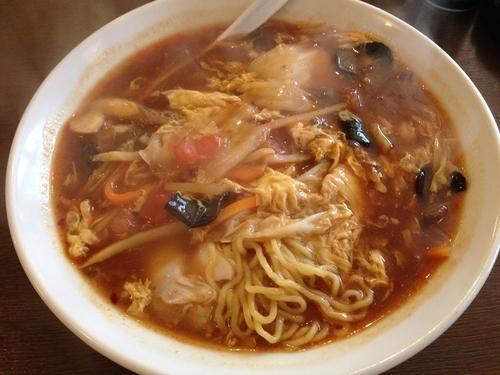 「酸辛湯麺」@東鵬厨房の写真