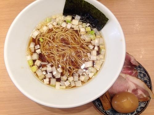 「特製鶏そば(醤油)」@松戸富田製麺 ららぽーとTOKYO-BAY店の写真