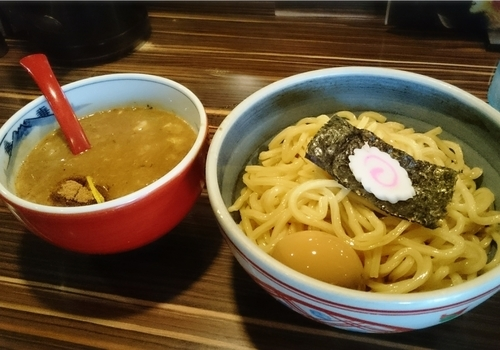 「味玉つけ麺 赤 900円」@中華そば 螢の写真