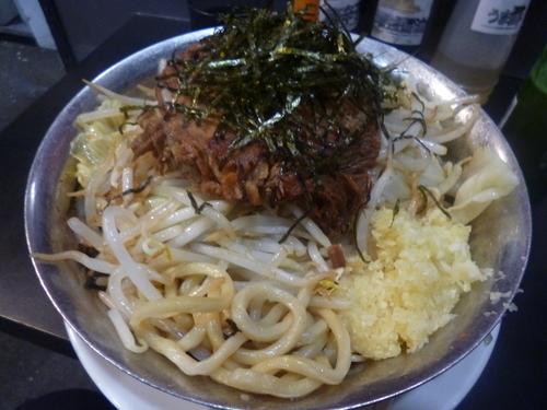 「汁無し豚」@自家製麺 キリンジの写真