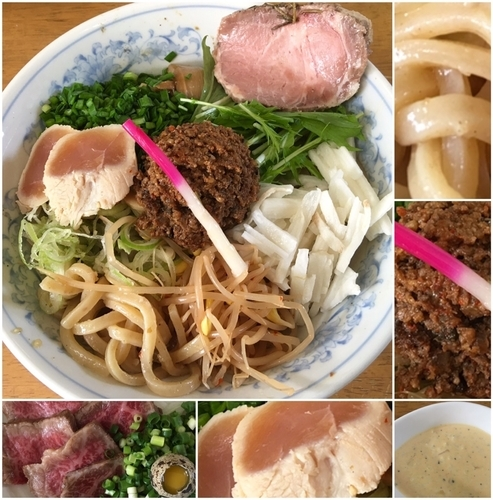 「名古屋風和え蕎麦D2000円他」@MENYA 食い味の道有楽の写真