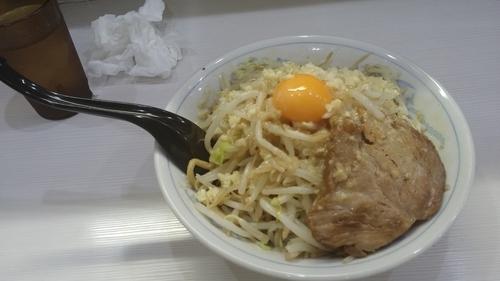 「醤油まぜそば 並 ニンニク チーズ」@麺処MAZERU 神田店の写真