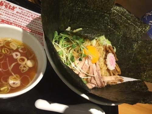 「THE 油そば 620円 海苔追加(無料)」@らあめん花月嵐 大森東口店の写真