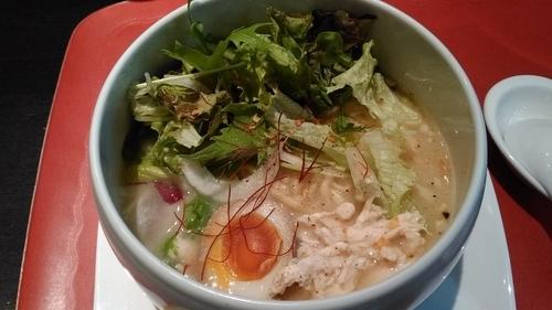 「こだわり麺の名物鶏塩ラーメン」@蔭山樓の写真