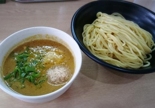 「スパイシーカレーつけ麺 300G 930円」@NOODLE BASE  TRICK☆STARの写真