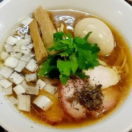 「【限定10食】特製地鶏中華そば 850円」@特級鶏蕎麦 龍介の写真