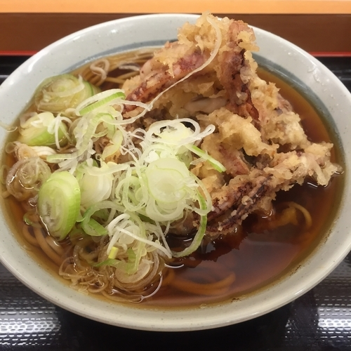 「ゲソ天(¥430)」@かのや 新宿西口店の写真