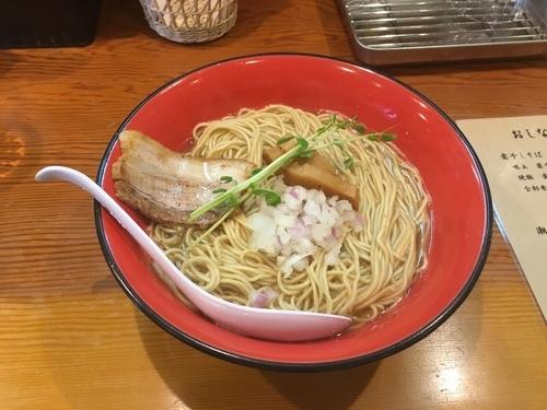 「潮煮干しそば(大盛り)」@麺屋 なか巌 国母店の写真