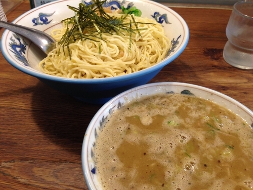「昆布出汁のつけ麺」@松波ラーメン店の写真