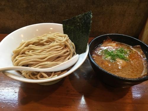 「海老つけ麺」@らーめん・つけめん いつ樹の写真