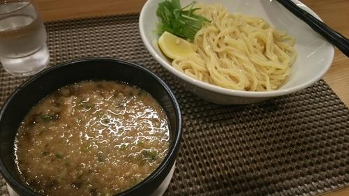 「鶏豚とろろつけ麺(麺300g)」@セアブラノ神 伏見剛力の写真