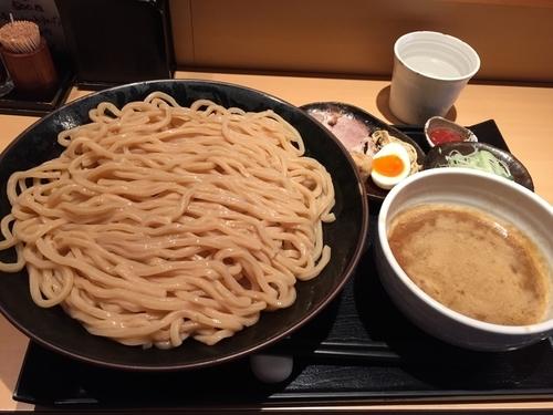 「つけ麺 +大盛150円」@つけ麺 道の写真