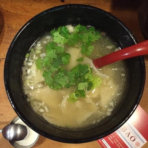 「羊のちぎり麺」@モンゴリアン・チャイニーズ BAOの写真