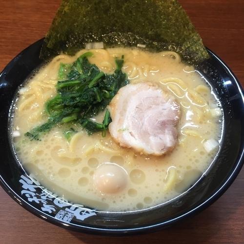 「オープン記念塩ラーメン並(¥500)※」@四谷商店の写真