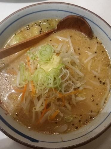 「味噌ラーメン」@らーめん すすきのの写真