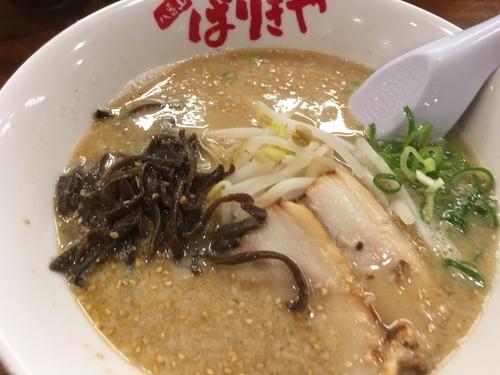 「ばりこてメン」@八番山 博多ラーメン ばりきや 太田店の写真
