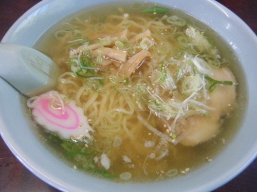「塩ラーメン630円」@高林産直食堂の写真