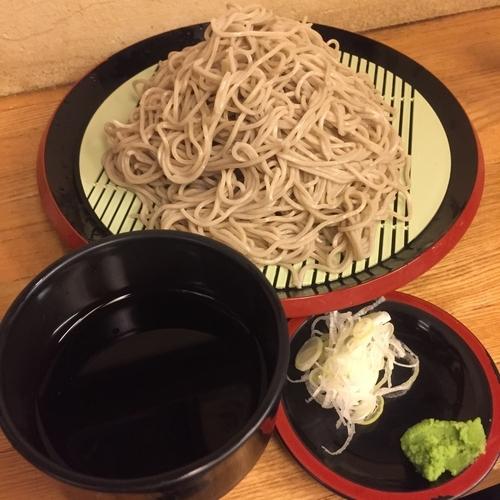 「恵み蕎麦(並盛)(¥500)」@京橋 恵み屋の写真