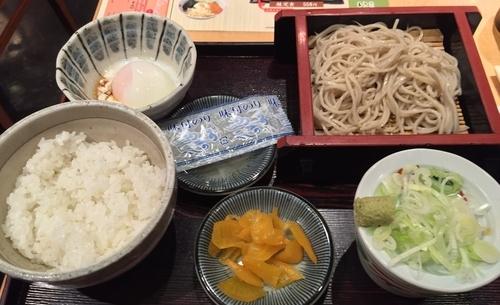 「そば定食(¥500)」@いろり庵 上野店の写真