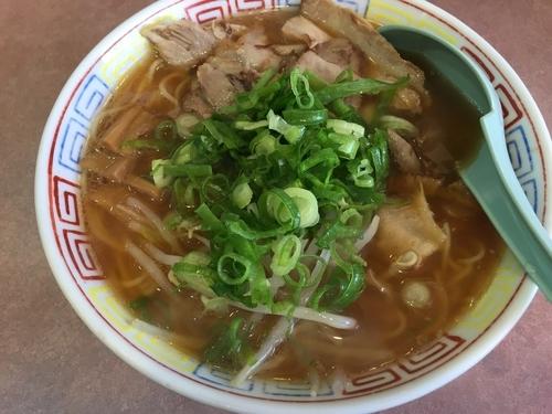 「こま切れチャーシュー麺:700円」@あまい からいの写真