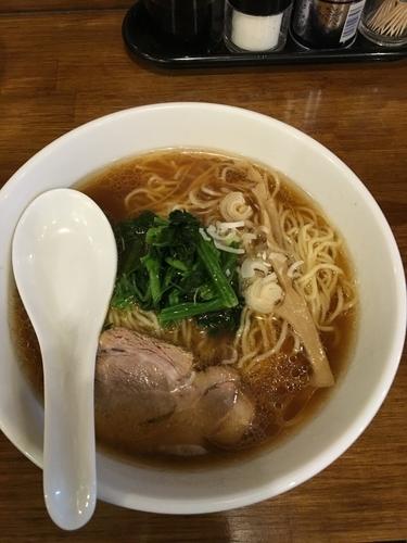 「らぁめん(醤油)」@麺酒場 季の写真