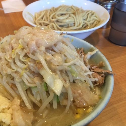 「【梅雨限定】なみのりつけ麺(¥880)」@ラーメン二郎 八王子野猿街道店2の写真