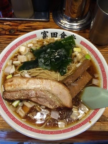 「中華そば」@松戸中華そば 富田食堂の写真