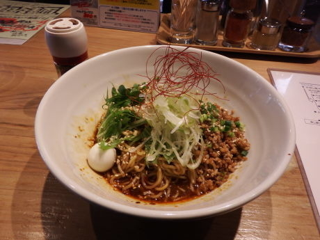 「フェスバージョン汁なし担々麺」@のるどらーめんの写真