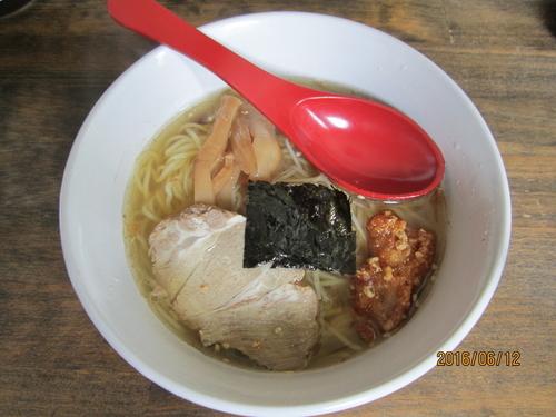 「天地返し麺 醤油 680円」@六紋銭 -essence-の写真