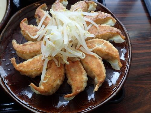 「浜松餃子と濃厚つけ麺のセット(1026円)」@五味八珍 メイワン店の写真