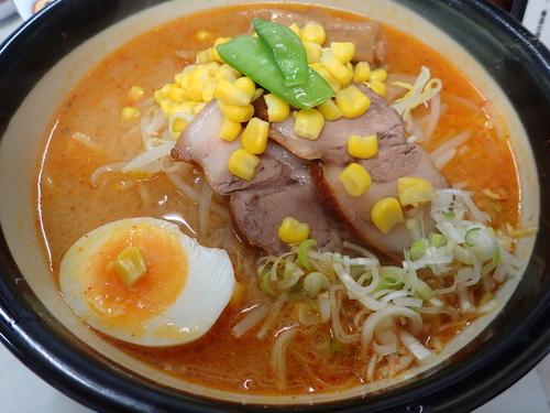 「味噌ラーメン・太麺」@ラーメン 日高の写真